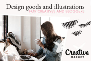 Creative market shop, design templates, illustrations and graphics for creatives and bloggers.
